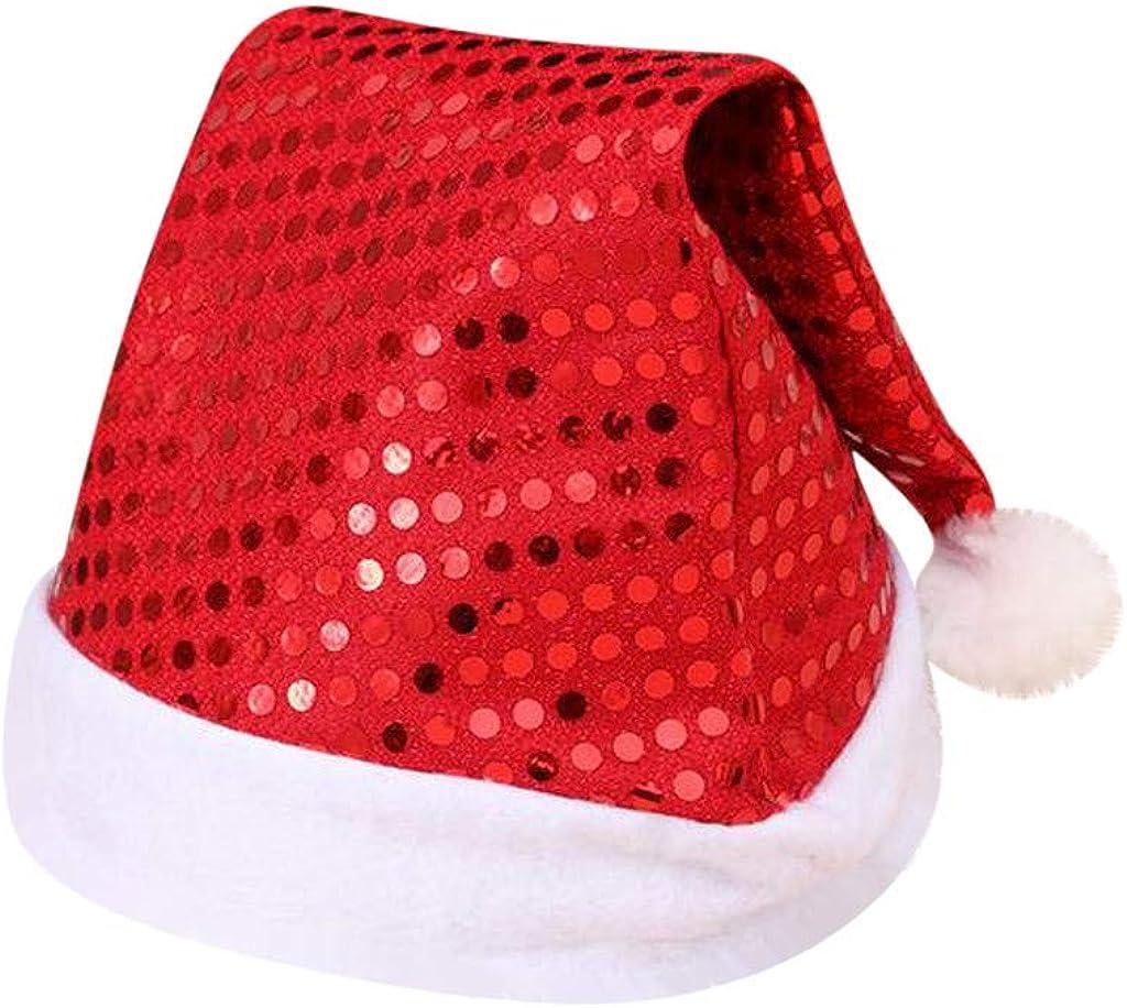 STORTO Christmas Sequin Cap...
