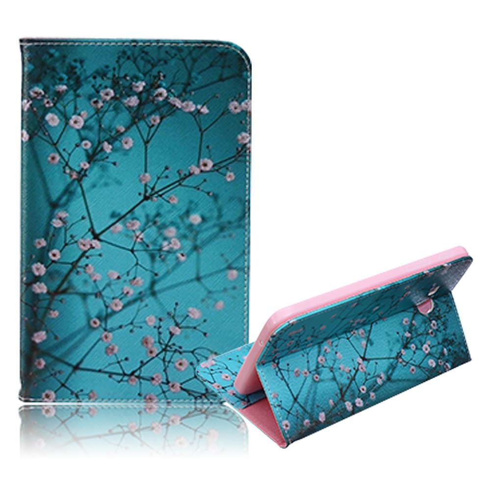 Samsung Galaxy Tab S2 8.0 inch SM-T710/T715 Case Funyye Ultra Thin Magnetic Close Detachable Flip Folio Book Style Type Standing With [Colorful Painting Sunflowers] Pattern Premium PU Leather Soft TPU Bumper Edge Case Cover [with Free Touch Pen]