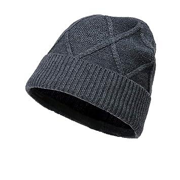 Nosterappou Gorra cortavientos para hombre de invierno, gorra de punto, gorra para hombres y