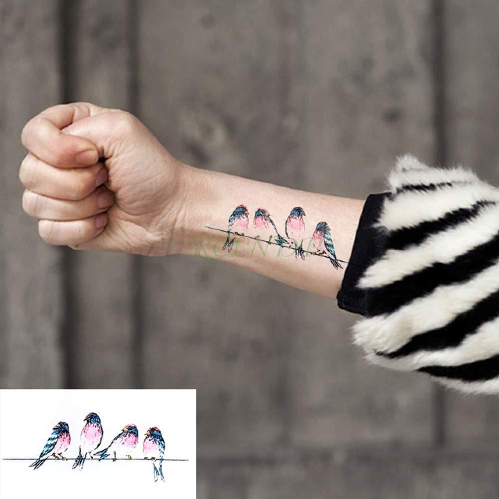 ljmljm 8pcs Impermeable Etiqueta engomada del Tatuaje de Barcos en ...