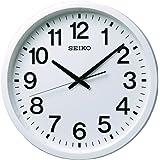 セイコー クロック 掛け時計 衛星 電波 アナログ 白 GP202W SEIKO