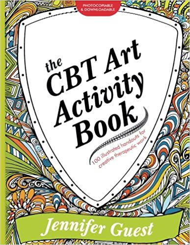 Amazon.com: The CBT Art Activity Book: 100 illustrated handouts ...