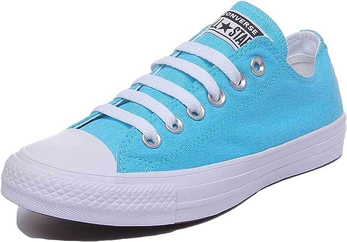 Converse Chucks Chuck Taylor All Star Low Top Ox Sneakers Unisex Blau