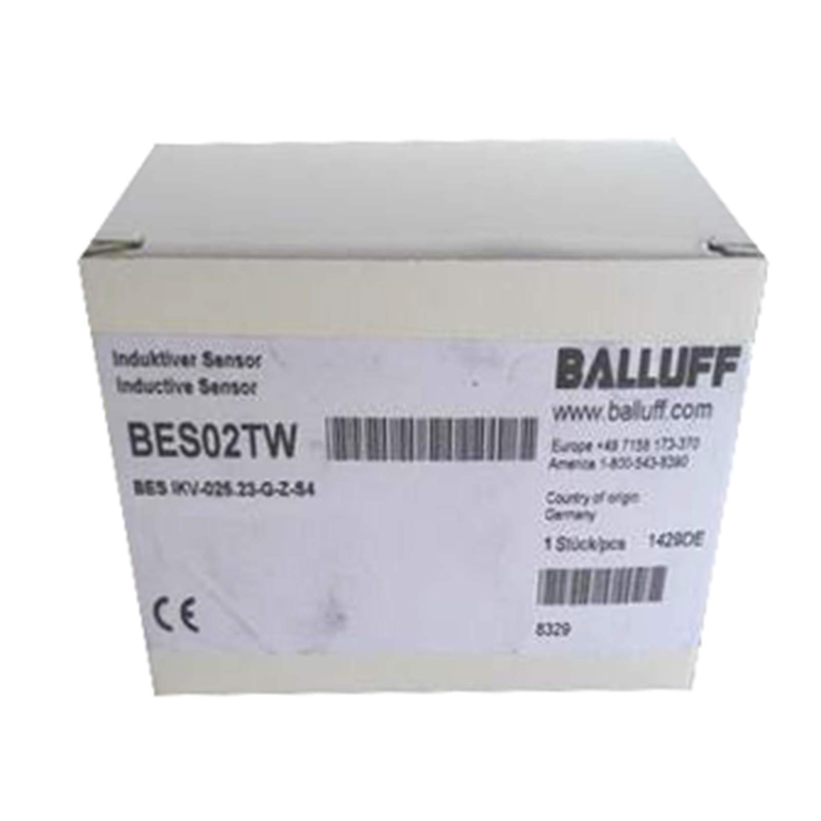 Carus Tool BALLUFF BES IKV-025.23-G-Z-S4(BES02TW) Inductive Ring and Tube Sensors PNP by Carus Tool