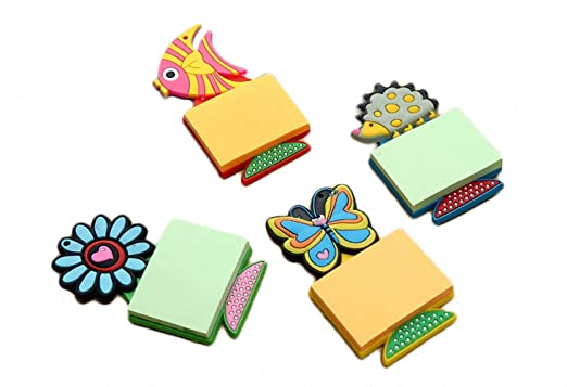 4 piezas divertidos dibujos animados pequeños peces PVC goma ...