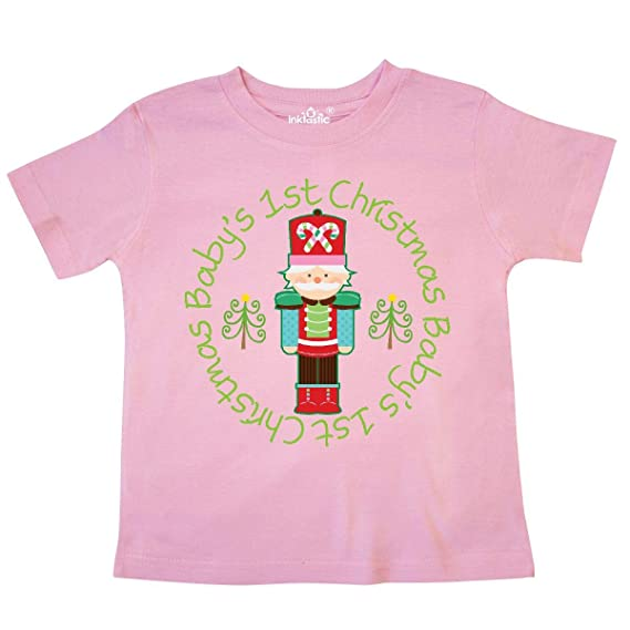 f1bb55b3852b Amazon.com: inktastic - Nutcracker First Christmas Baby Gift Toddler  T-Shirt 204c5: Clothing
