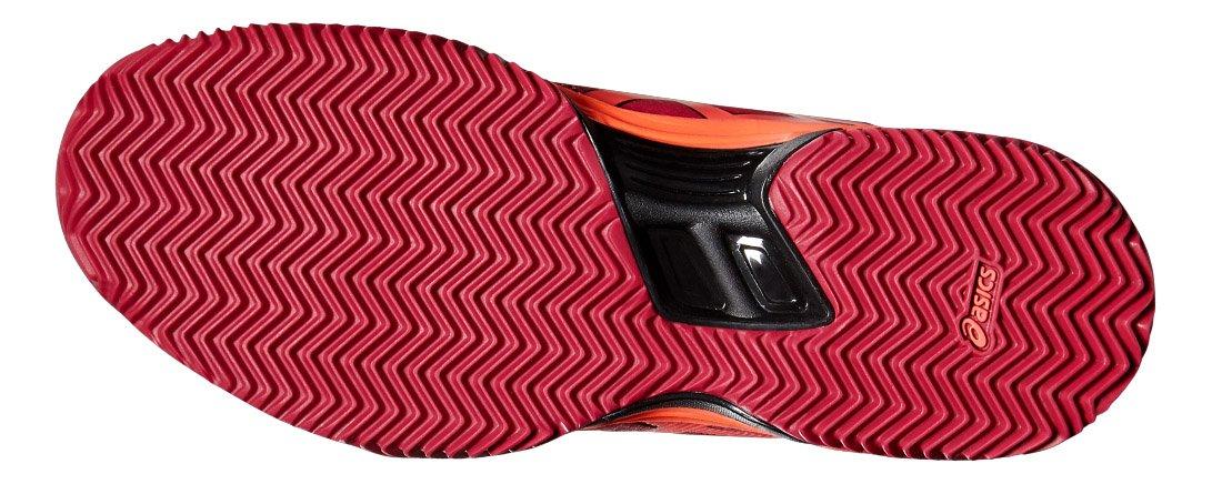 ASICS - Gel Padel Pro 3 SG, Color Rojo, Talla UK-8: Amazon.es: Deportes y aire libre