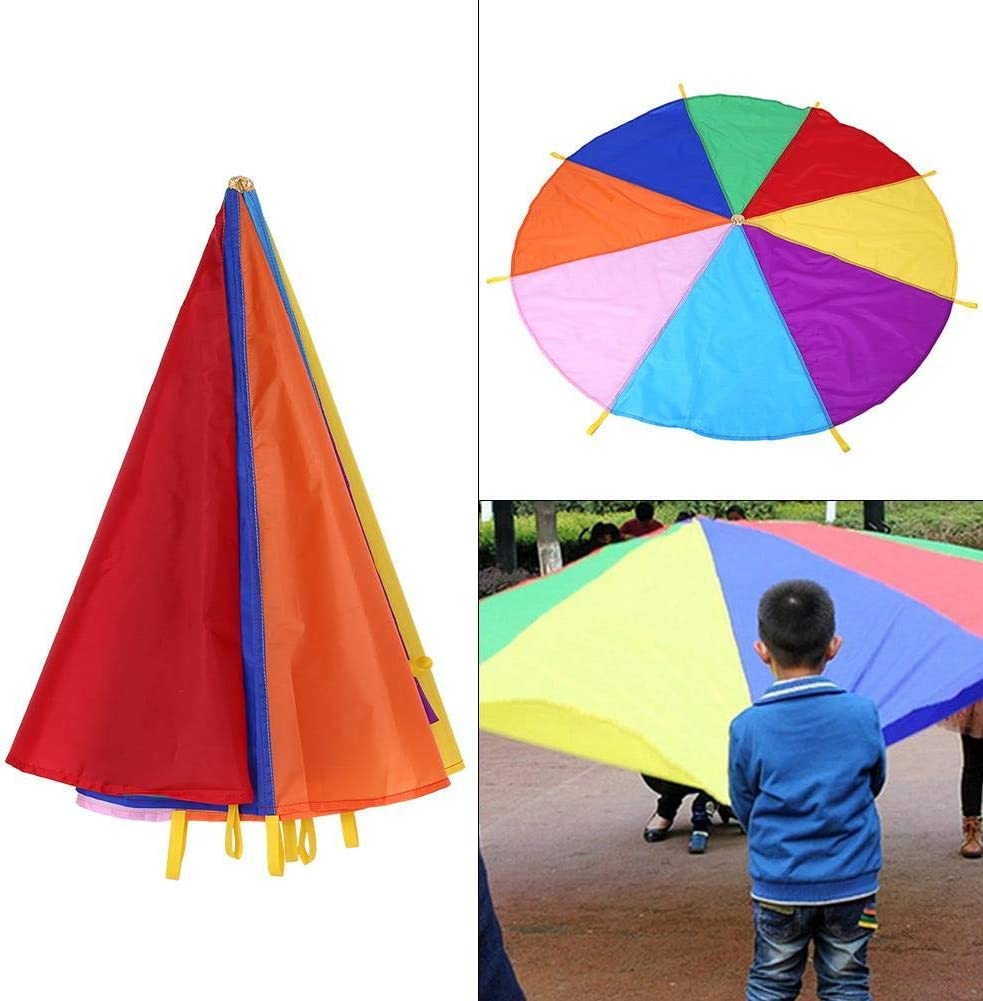 Outdoor Toy with 50m Handle Line tyrrdtrd Beautiful Rainbow Long Tail Triangle Flying Kite for Adult Kids