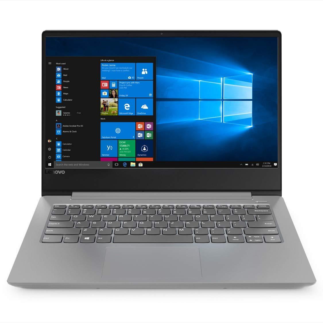 Lenovo Ideapad 330s Intel Core i3 8th Gen 14-inch Full HD Thin & Light Laptop (4GB RAM/1TB HDD/Windows 10 Home / Platinum Grey /1.6kg), 81F40196IN