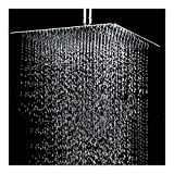 12'' Square Stainless Steel Rain Shower Head Rainfall Bathroom Top Sprayer New