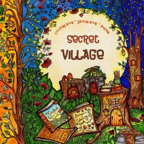Village Coloring Book - 7