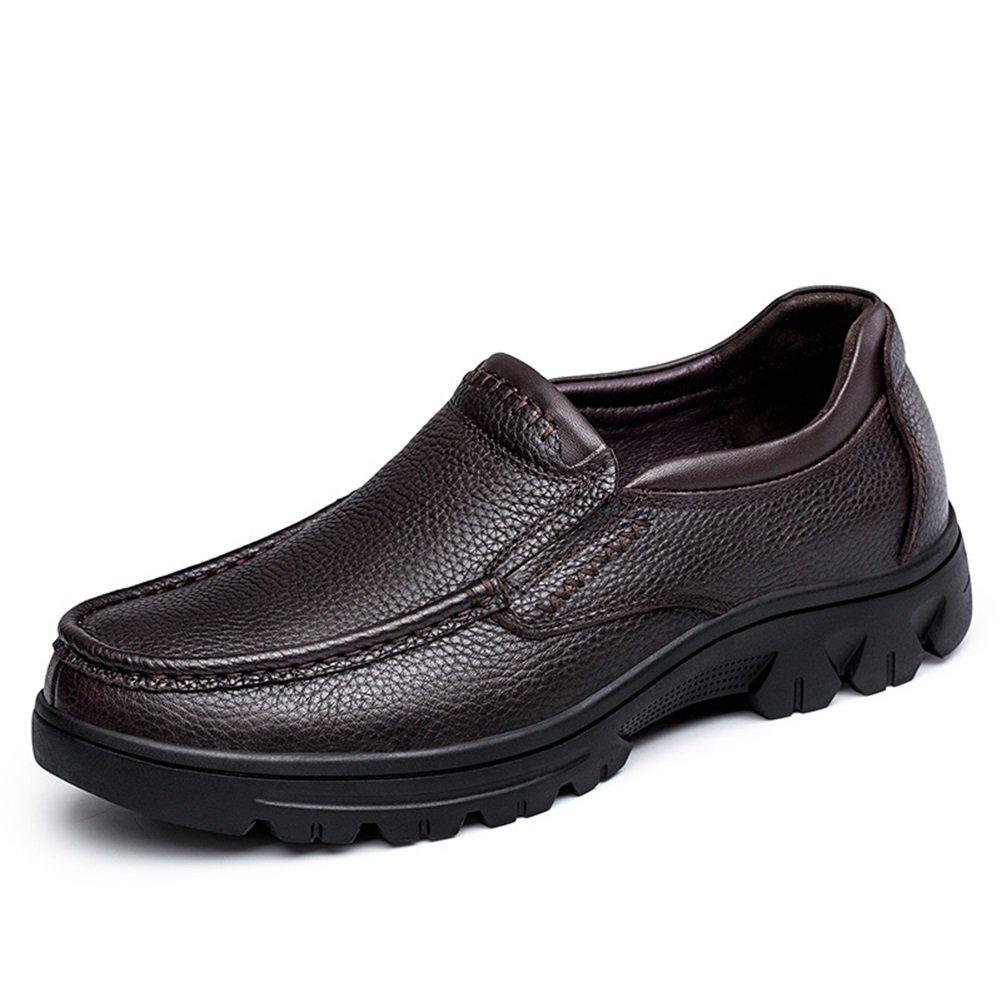 Mocasines y Zapatos de Cuero de los Hombres Zapatos de Conducción Zapatos Cómodos para Caminar para Oficina y Carrera 37 EU Un