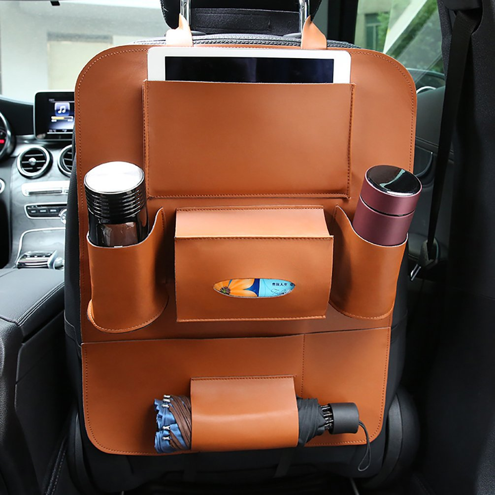 Outdoor Car Storage >> Amazon Com Hobull Universal Back Seat Car Organizer Car