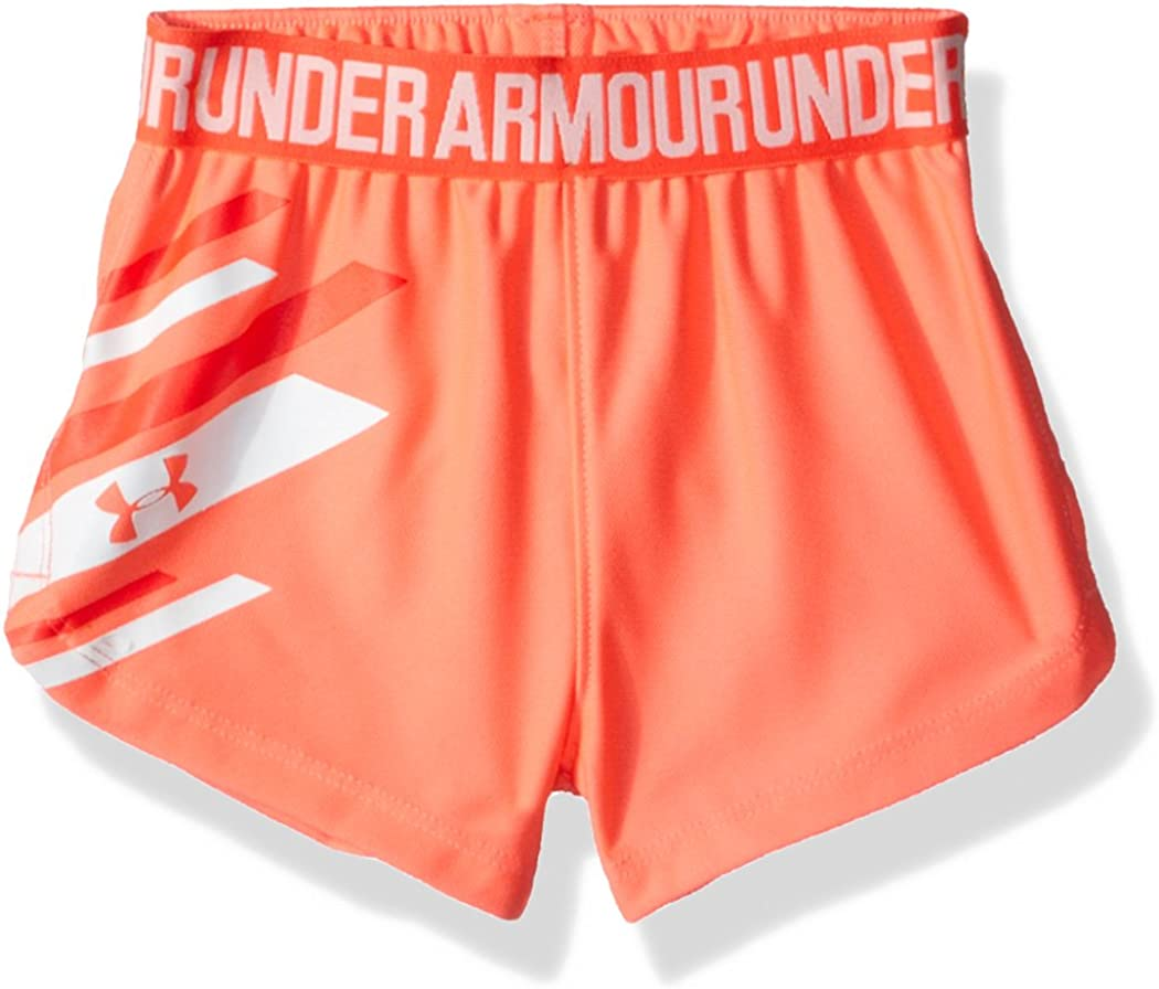 Under Armour Baby Girls Graphic Play Up Short