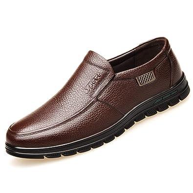 Zapatos De Cuero para Hombres - Zapatos De Vestir De ...