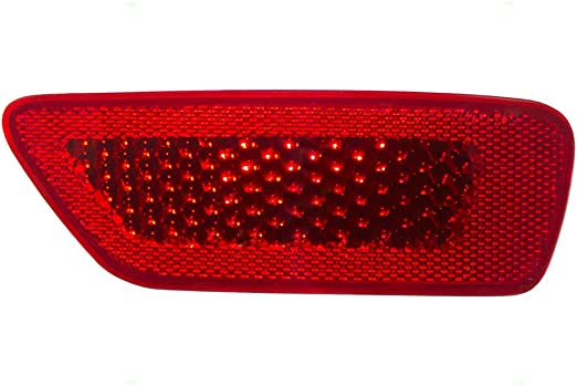 New Rear Left Driver Side Bumper Reflector For 2011-2018 Dodge Journey /& 2011-2017 Jeep Compass CH1184100 57010721AC