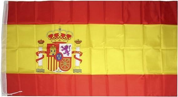 Bandera España 90 x 150 cm: Amazon.es: Jardín