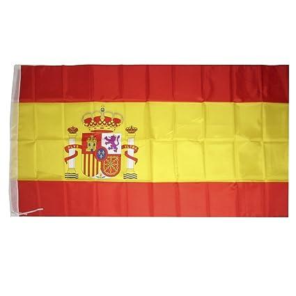 Bandera España 90 x 150 cm  Amazon.es  Jardín 8f92cdac7cf