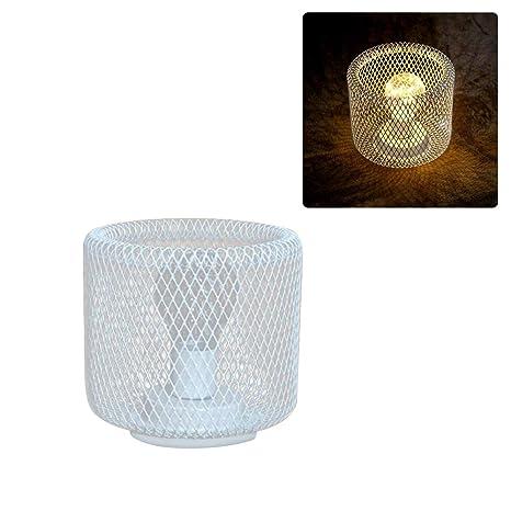 Lámpara de mesa vintage para dormitorio, salón, estilo rústico, de ...