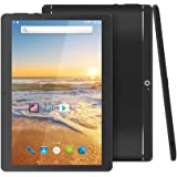 "YELLYOUTH 10 inch Android Tablet with Sim Card Slot Unlocked 3G Phone Phablet 10.1"" Quad-Core 1GB RAM 16GB with Wifi and Camera Built in Bluetooth GPS - Black Alloy"