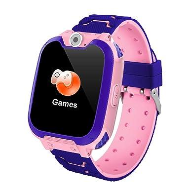 Teléfono Inteligente Niña Smartwatch Cámara Juegos Pantalla ...