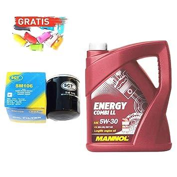 Original SCT Alemania, Mannol aceite sm106 _ Energy + ...