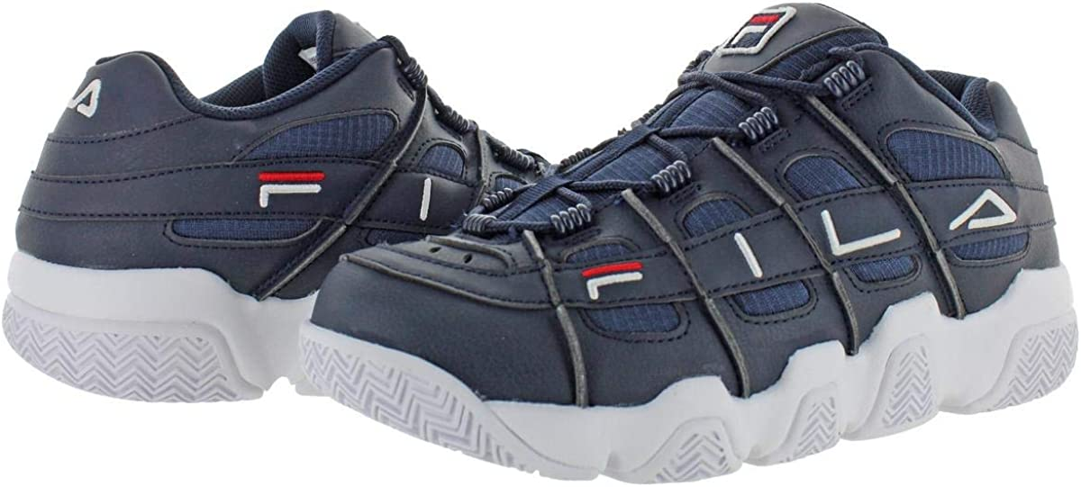 Fila Men's Uproot Chunky Logo Sneakers Navy / Red / White