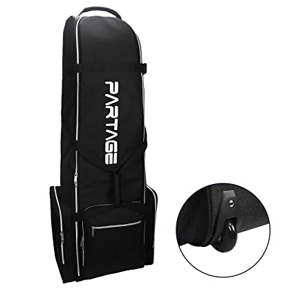 Amazon.com: Partage - Bolsa de viaje para golf con ruedas ...