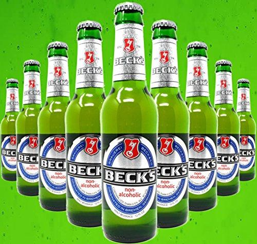 Becks Non-Alcoholic Beer, 12-oz (350 ml) Case Of 12 Glass Bottles