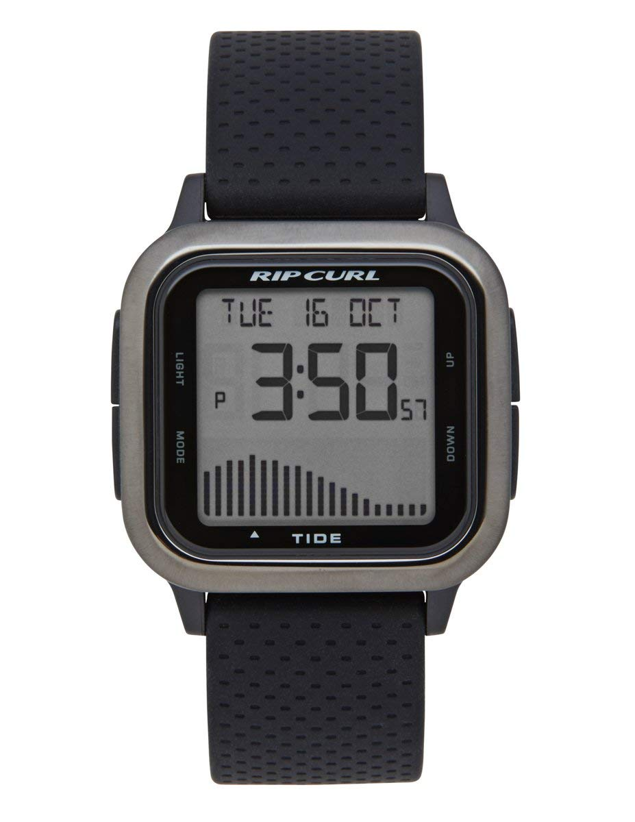 Rip Curl Men's Quartz Sport Watch with Silicone Strap, Black, 22 (Model: A1137GUN1SZ) by Rip Curl