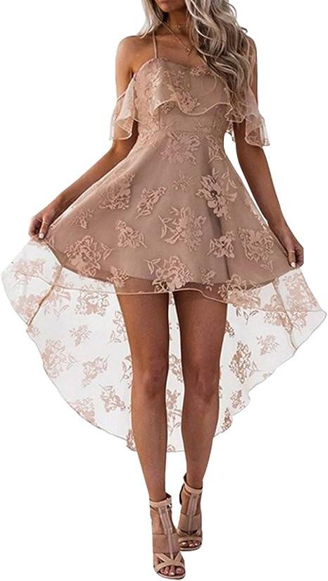 ZSRHH-Falda Vestido de Mujer Vestido Corto de Fiesta de Baile para ...