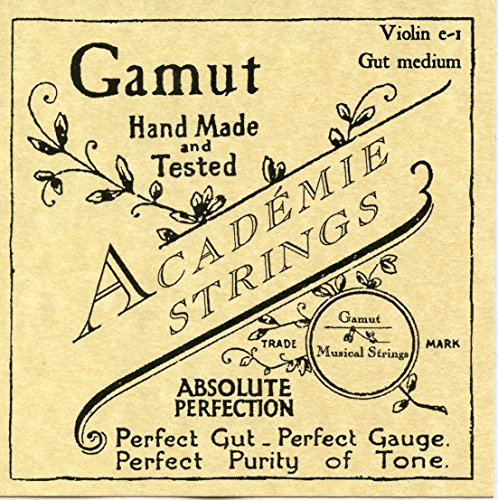 Academie Violin e-1 Gut Medium Gauge by Academie