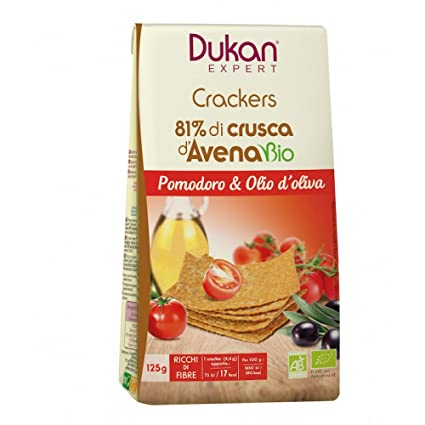 Dukan Experto Crackers Tomate Bio 125g