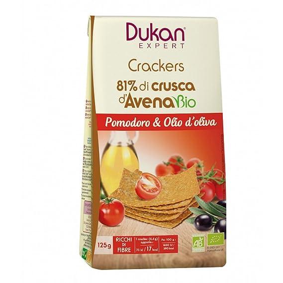 Dukan Experto Crackers Tomate Bio 125g: Amazon.es: Salud y cuidado personal