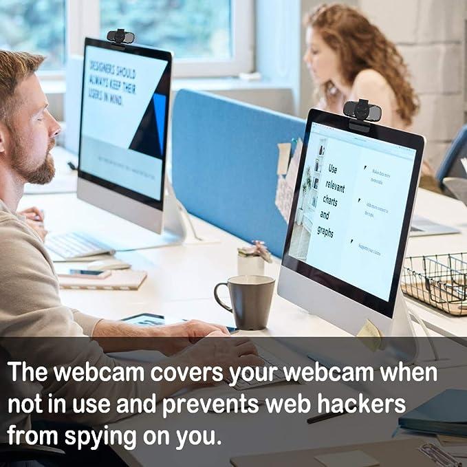 Hangouts usogood Webcam PC Webkamera Eingebautes Mikrofon Clip-On F/ür Skype PC//Mac//ChromeOS//Android FaceTime etc Full-HD 1080P Externe USB-Computer-Kamera