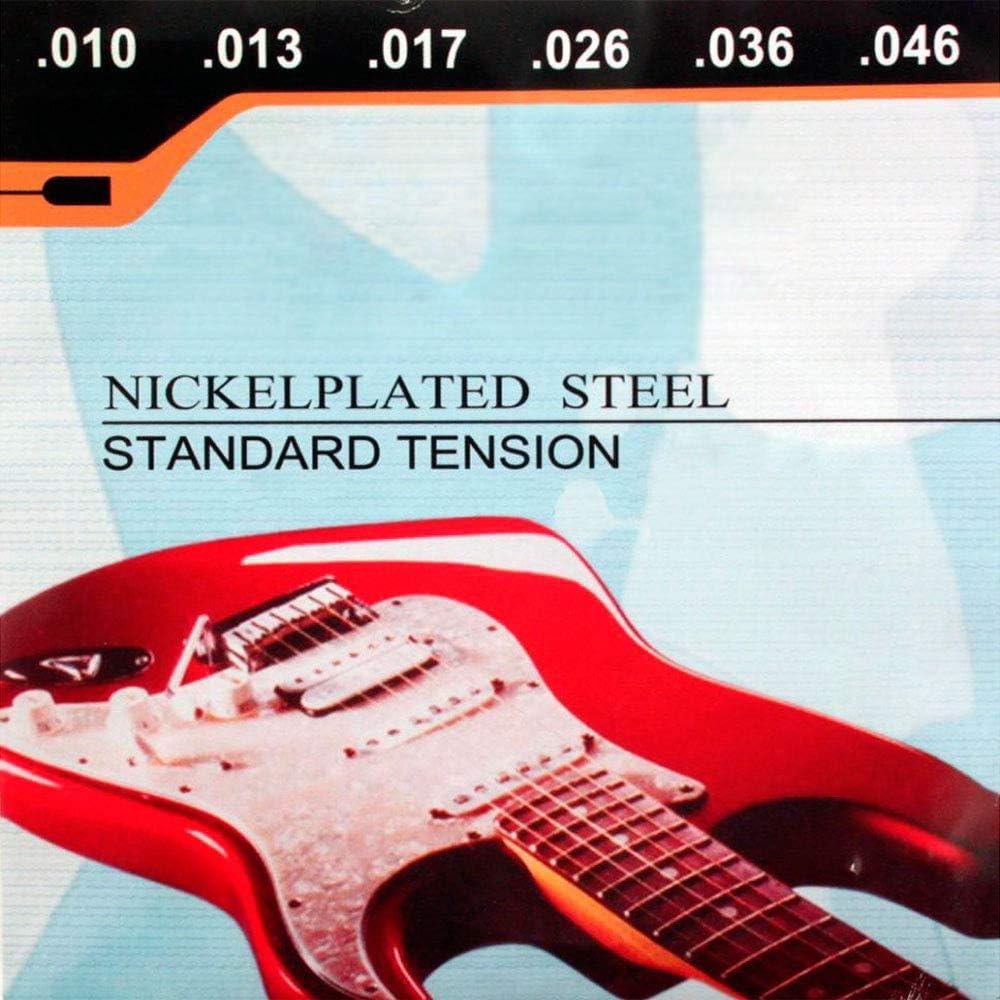OcioDual Juego De Cuerdas para Guitarra Electrica Nickelplated ...