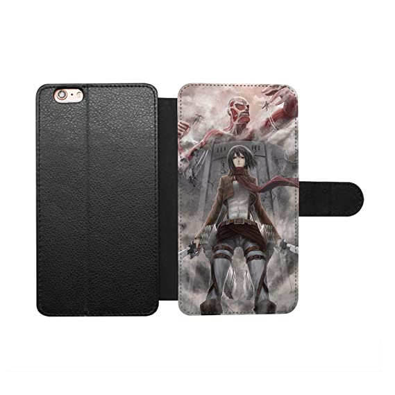7f16ac1bfbad1c Anime Attack on Titan Mikasa Ackerman Case for iPhone 6 Plus 6S Plus (5.5