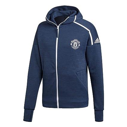 low priced 44977 0f4af Amazon.com : adidas Manchester United ZNE 3.0 Jacket (M ...