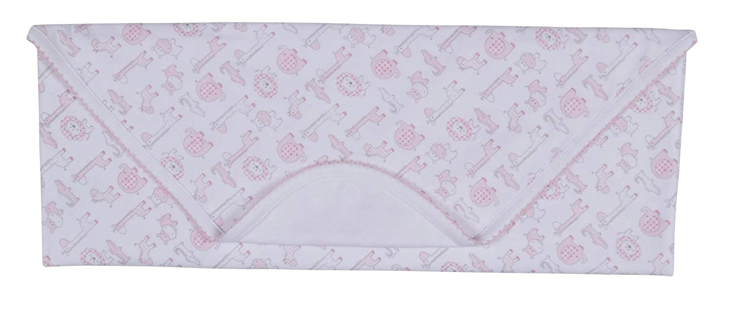 Kissy Kissy Baby-Girls Infant Jungle Out There Print Receiving Blanket