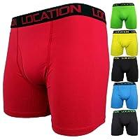 Location Mens Longer Leg Sports Boxer Shorts