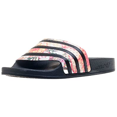 4610d8291421 adidas Adilette W Womens Slide Black Multicolour - 7 UK  Amazon.co ...