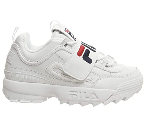 Fila Disruptor II Premium Donna Sneaker Bianco: Amazon.it ...