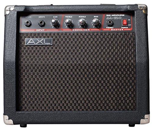 AXL AA-B20 Bass Amplifier, 20W by AXL