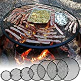 Sunnydaze X-Marks Fire Pit Cooking Grill - Multiple