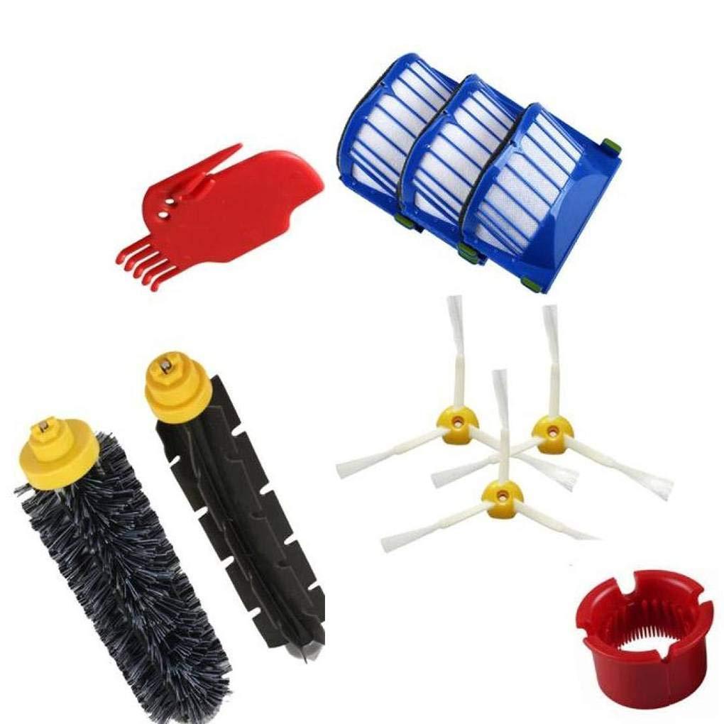 lindahaot 10PCS Aspirateur Remplacement Nettoyage Kit Filtre Accessoire pour Partie iRobot 600
