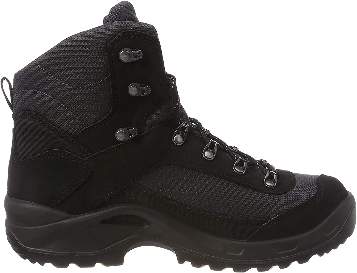 Lowa Mens Taurus Gore-Tex Mid Black Suede Boots 12 US
