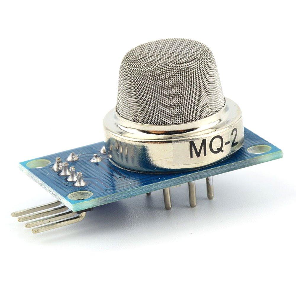 Veerobot Smoke Gas Lpg Butane Hydrogen Sensor Detector Mq2 Circuit Built With An Arduino Module Mq 2 Industrial Scientific