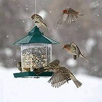 TopHGC Comedero para pájaros, comedero Colgante para pájaros