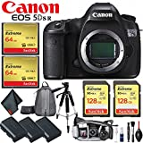Canon EOS 5DSR DSLR Camera (Body Only) International Version (No Warranty) Master Photographer Essential Kit