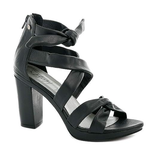 Amazon.com: VELEZ Women Genuine Colombian Leather Chunky heel Sandals   Sandalias de Cuero: Shoes